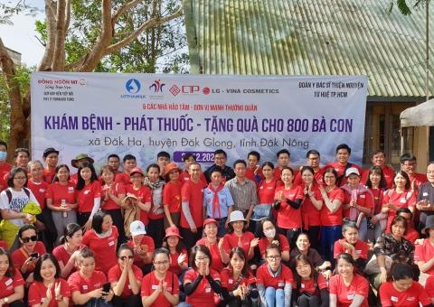 CTP đồng hành cùng quỹ Pay It Forward khám chữa bệnh cho bà con Đắk Nông